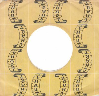 Chart Company Sleeve 1969 - 72/ Original Company Sleeve