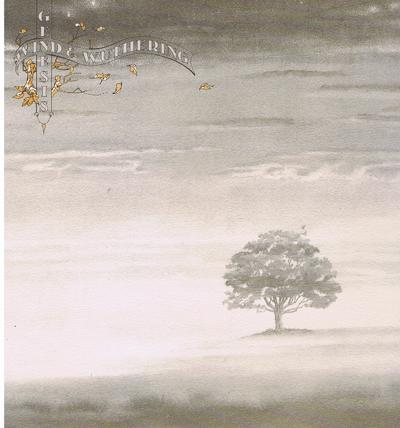 Wind And Wuthering/ 1976 Uk Textured Cover