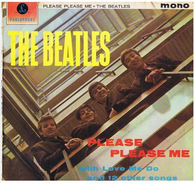 Image for Please Please Me/ 1962 Orig Press Yellow Logo