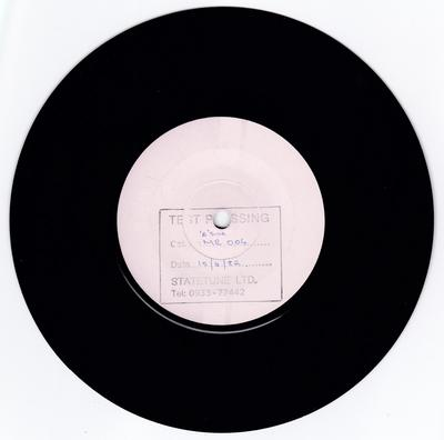 Naughty Thoughts - All Or Nothing / Weekdays - Statetune MR 004 test press