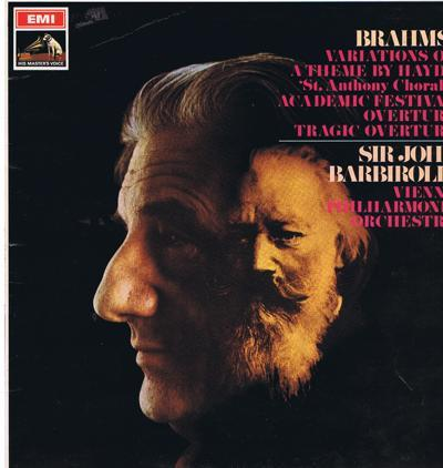 Brahms Varaiations On A Theme By Hayden/ 1968 Uk Stereo Press