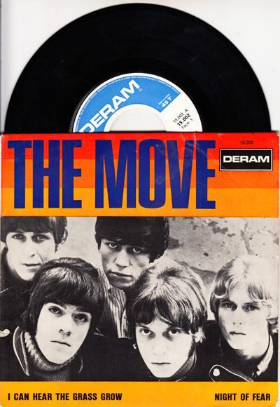 I Can Hear The Grass Grow/ 1967 French 4 Track Ep + Cover