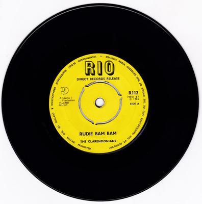 Claredonians - Rudie Bam Bam / Be Bop Boy - Rio R112