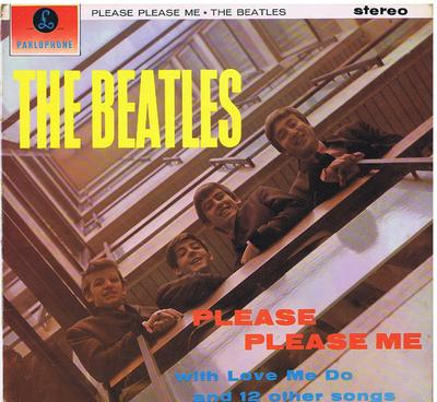 Beatles - Please Please Me - Parlophone PCS 3012