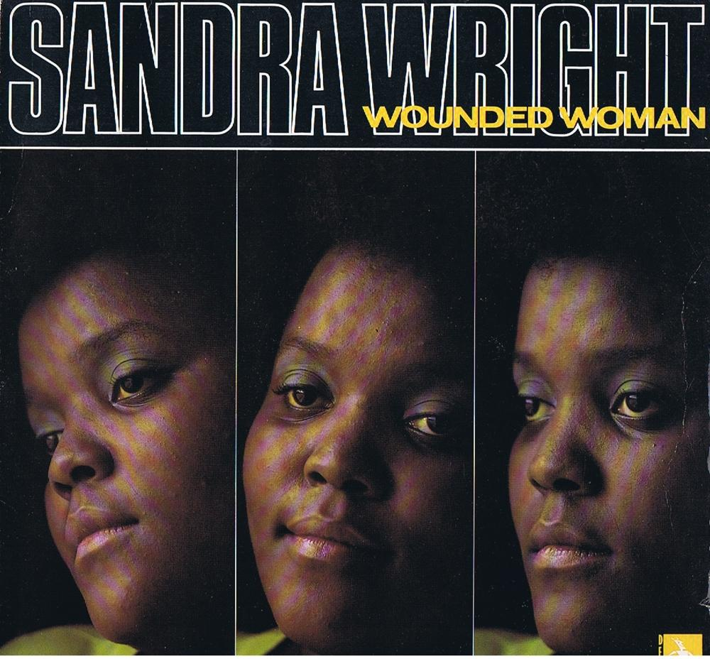 Sandra Wright - Wounded Woman / 1989 UK press - Demon FIEND136