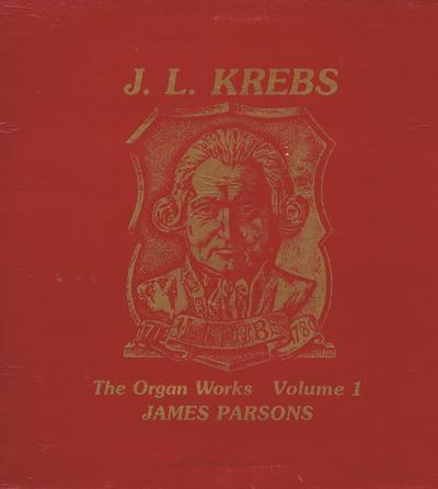The Music Of Johann Krebs/ 1982 Uk Press In Gatefold