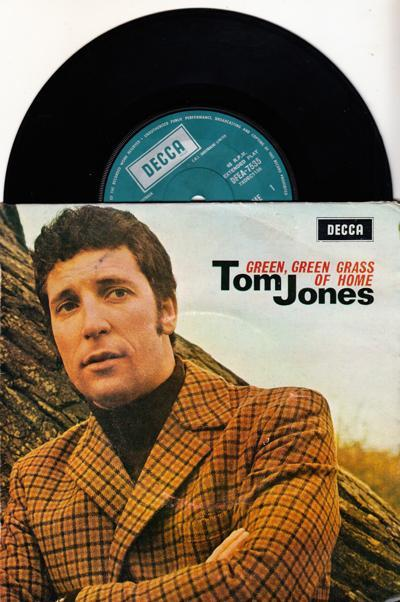 Green Green Grass Of Home/ 1967 Australian Ep With Cover