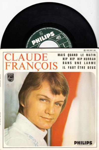 Mais Quand Le Matin/ 1967 4 Track French Ep + Cvr