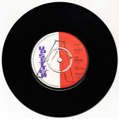 Upsetters c/w The Bleechers - The Vampire / Check Him Out - Upsetter US 317 DJ