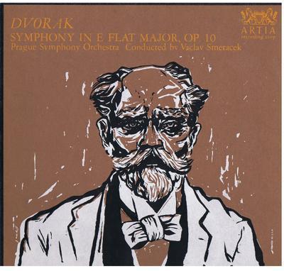 Image for Dvorak: Symphony In E Flat Major, Op. 10/ 1960 Usa Press In Gatefold