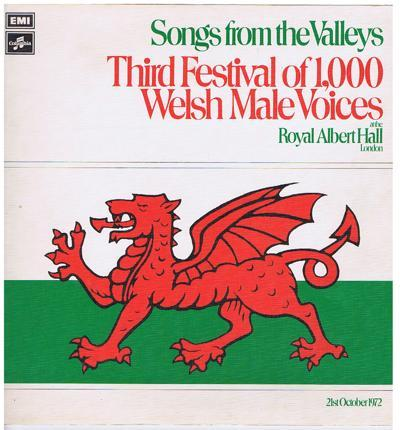 Songs From The Valleys/ 1972 Uk Stereo Press