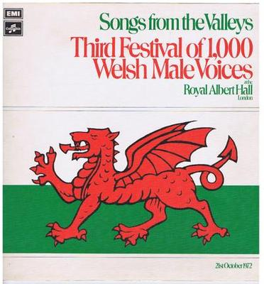 Image for Songs From The Valleys/ 1972 Uk Stereo Press