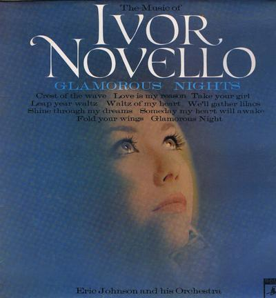 Music Of Ivor Novello/ 1968 Uk Press