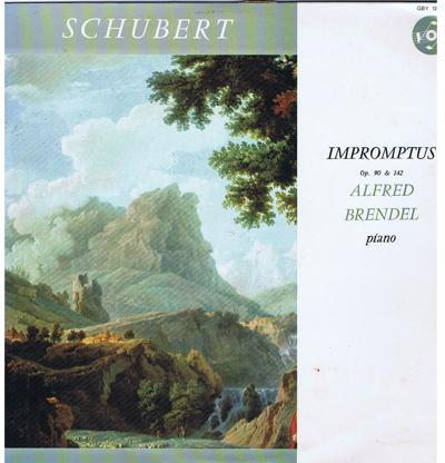 Schubert Impromptus Op. 90 & 142/ 1963 French Press