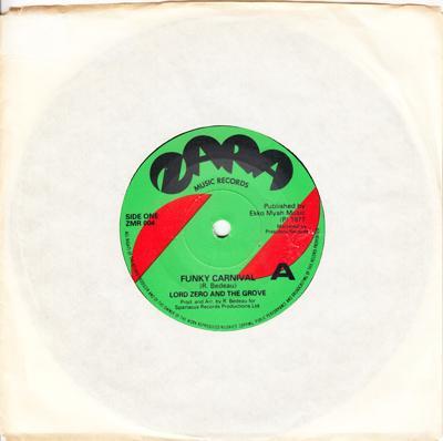 Funky Carnival/ Same: Instrumental