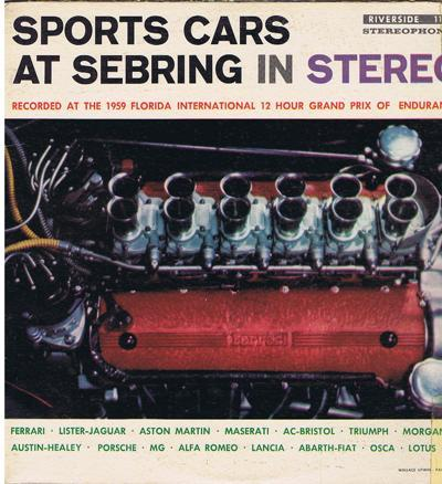 Sports Cars At Sebring In Stereo/ 1959 Usa Press