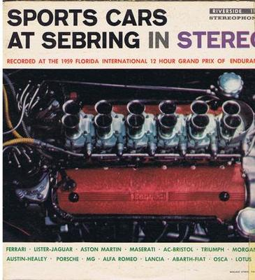 Image for Sports Cars At Sebring In Stereo/ 1959 Usa Press