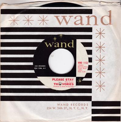 Ivories - Please Stay / I'm In a Groove - Wand WND 1152
