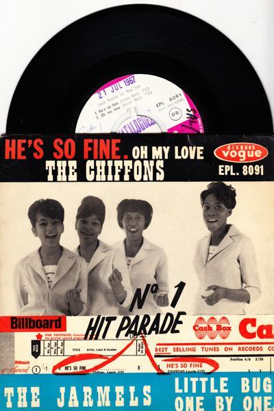 He's So Fine/ 4ttrack 63 French Ep With Cvr