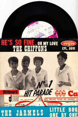 Image for He's So Fine/ 4ttrack 63 French Ep With Cvr