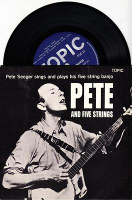 Image for Pete And Five Strings/ 1958 6 Track Uk Ep With Cover