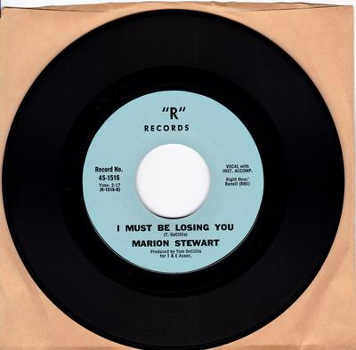 Marion Stewart - I Must Be Losing You / A Hundred Years From Today - R 1516