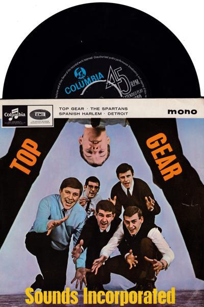 Top Gear/ 1964 Uk 4 Track Ep With Cover