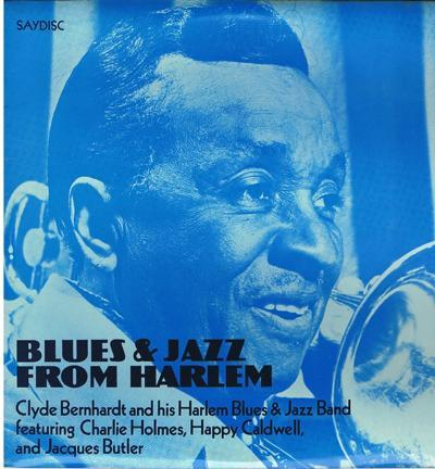 Blues And Jazz From Harlem/ 8 Track Lp
