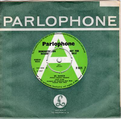 Steve Flynn - Mr. Rainbow / Let's Live For Tomorrow - Parlophone R 5625 DJ