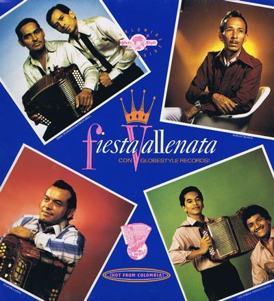 Fiesta Vallenata/ 14 Track Latin Lp