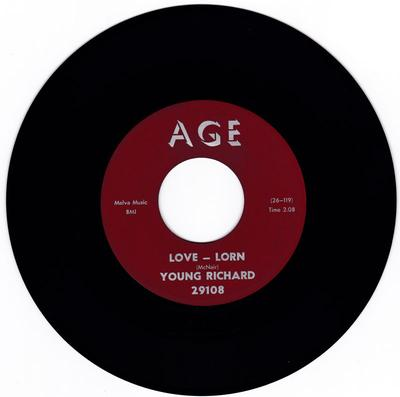 Young Richard - Love Lorn / I Can't Understand - Age 29108