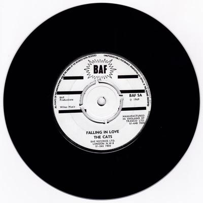 The Cats / Ray Pereira -  Don't Mess With Cupid / Falling In Love - BAF 5