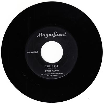 Gwen Moore - Little Sally walker / The Isle - Magnificent MAG 101