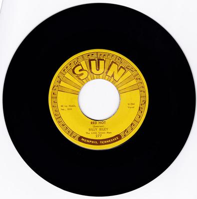 Billy Lee Riley - Red Hot / Pearly Lee - Sun 277