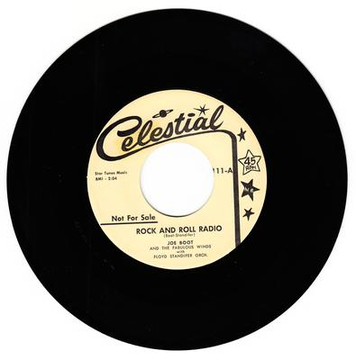 Joe Boot and the Fabulous Winds - Rock And Roll Radio / That's Tough - Celestial 111 DJ
