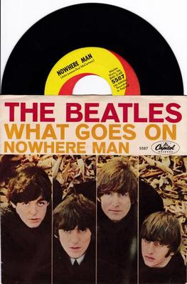 Image for Nowhere Man/ What Goes On