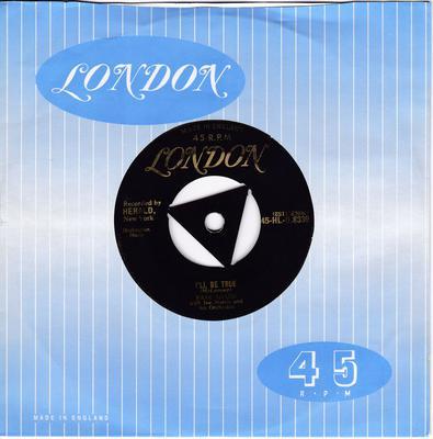Faye Adams - I'll Be True / Happiness To My Soul - London HLU 8339