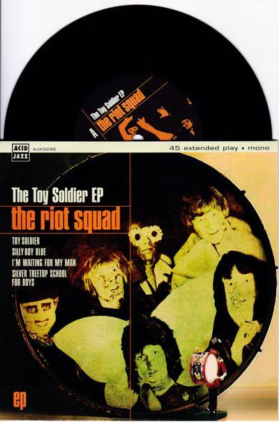 The Toy Soldier/ 2013 4 Track Ep With Cover