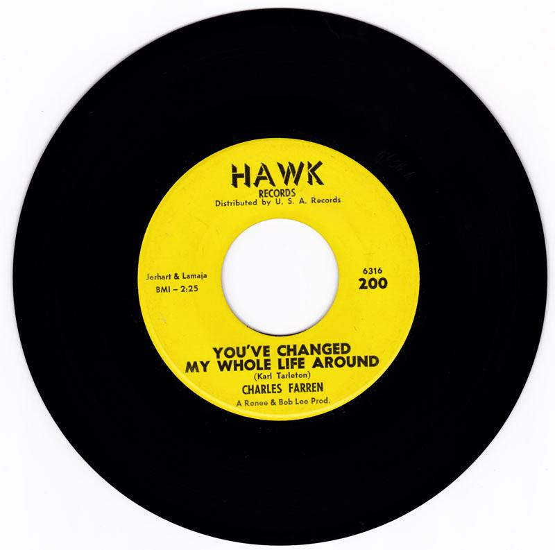 Charles Farren - You've Changed My Whole Life Around - Hawk