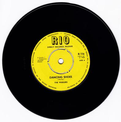 Wailers - Dancing Shoes / Don't Look Back - Rio R 116