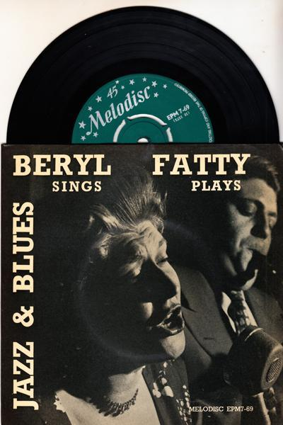 Jazz & Blues/ 1957 6 Track Ep With Cover