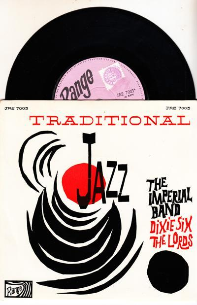 Traditional Jazz/ 1966 Uk Ep With Cover