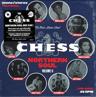 Chess Northern Soul Volume Ii/ 7 X 45 14 Different Titles