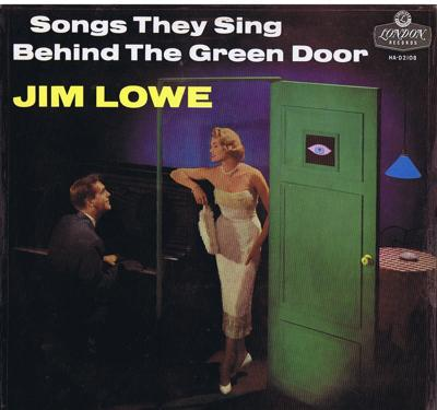 Image for Songs They Sing Behind The Green Door/ 1957 Uk Press