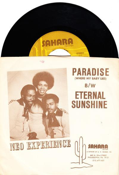 Paradise (where My Baby Lies)/ (external) Sunshine