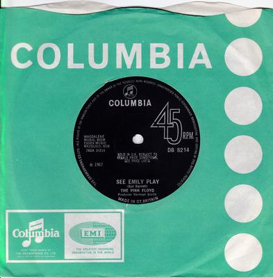 Pink Floyd - See Emily Play / Scarecrow - Columbia DB 8214