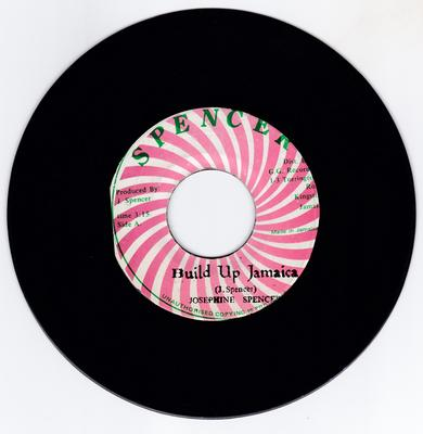 Josephine Spencer - Build Up Jamaica / Live It Up - Spencer 0139