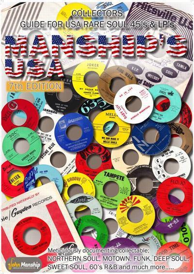 Manship Rare Soul Collectors Guide 7/ Limited 1000 Hardback