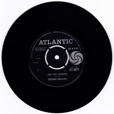 Esther Philips - Just Say Goodbye / I Could Have Told You - Atlantic AT 4077