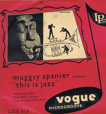 """Image for Broadcasts This Is Jazz/ 1955 10"""" Uk Press"""